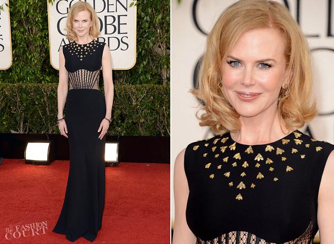 Nicole Kidman in Alexander McQueen | 2013 Golden Globes
