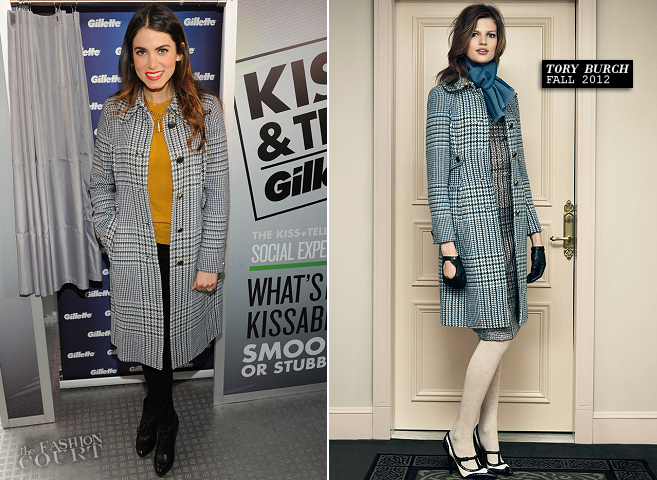 Nikki Reed in Tory Burch & J Brand | Gillette Kiss & Tell Live National Experiment