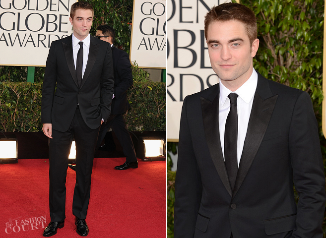 Robert Pattinson in Gucci | 2013 Golden Globes