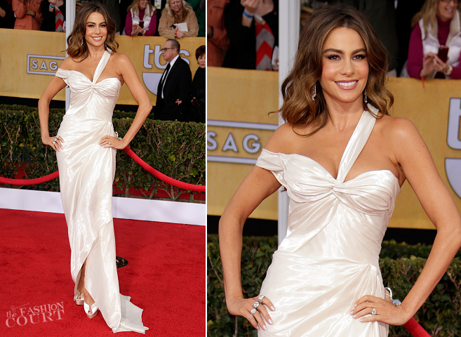 Sofia Vergara in Donna Karan Atelier | 2013 SAG Awards
