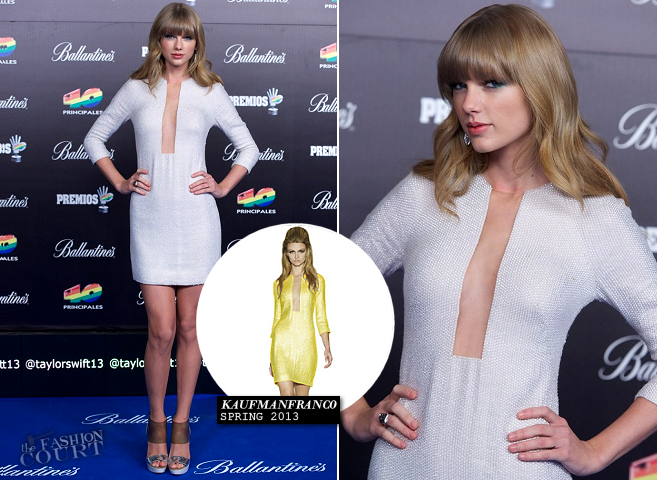 Taylor Swift in KaufmanFranco | 2012 40 Principales Awards