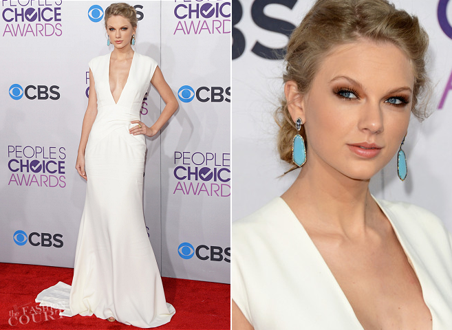 Taylor Swift in Ralph Lauren | People's Choice Awards 2013
