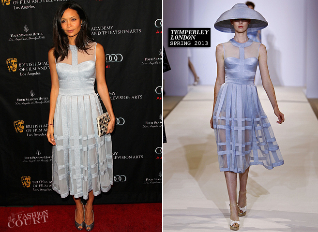 Thandie Newton in Temperley London | BAFTA Los Angeles Tea Party 2013