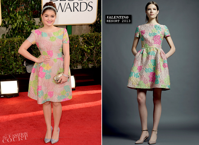 Ariel Winter in Valentino | 2013 Golden Globes