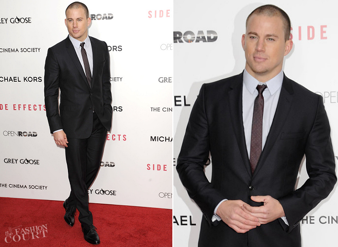 Channing Tatum in Dolce & Gabbana | 'Side Effects' NY Premiere