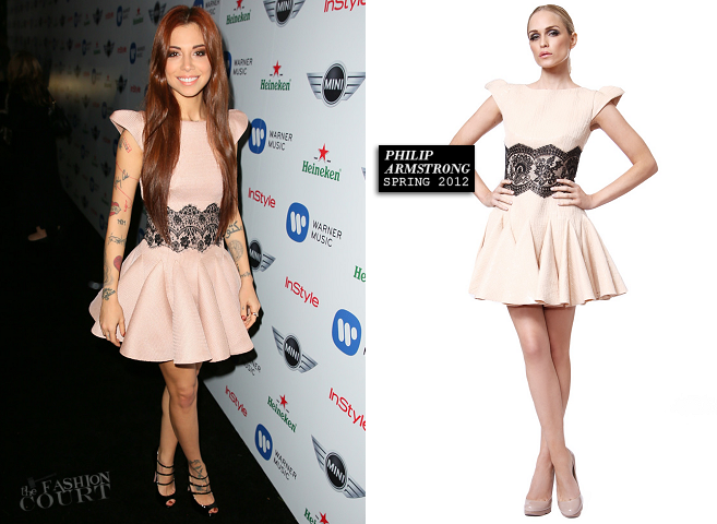 Christina Perri in Philip Armstrong | Warner Music Group's 2013 Grammy Celebration
