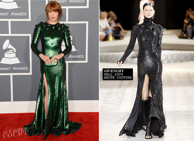 Florence Welch in Givenchy | 2013 GRAMMY Awards