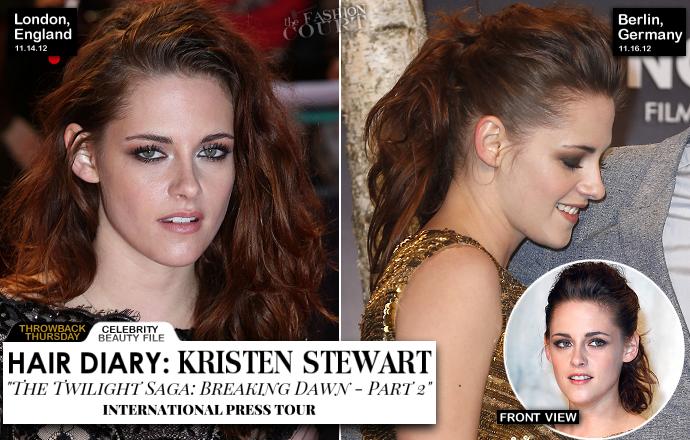 TBT: Kristen Stewart's 'Breaking Dawn: Part 2' Hair Diary