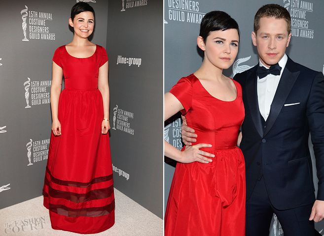 Ginnifer Goodwin in Misha Nonoo | 2013 Costume Designers Guild Awards
