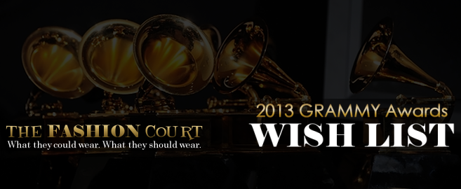 2013 GRAMMY Awards -- WISH LIST