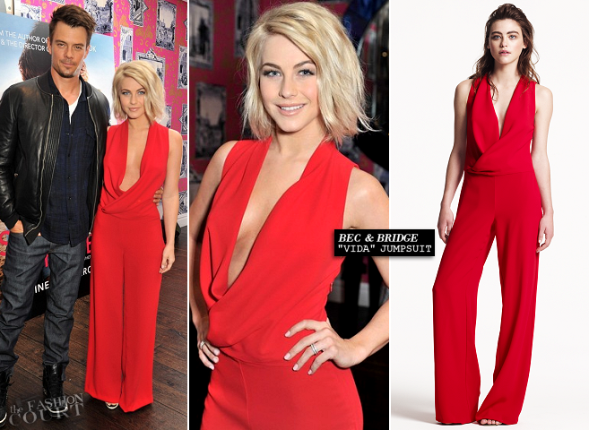 Julianne Hough in Bec & Bridge | 'Safe Haven' London Photocall