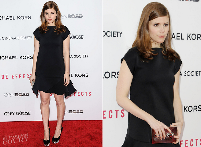 Kate Mara in Givenchy | 'Side Effects' NY Premiere