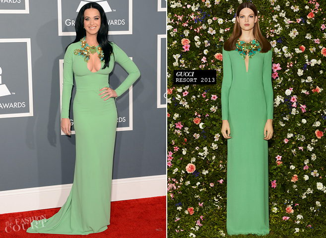 Katy Perry in Gucci | 2013 GRAMMY Awards