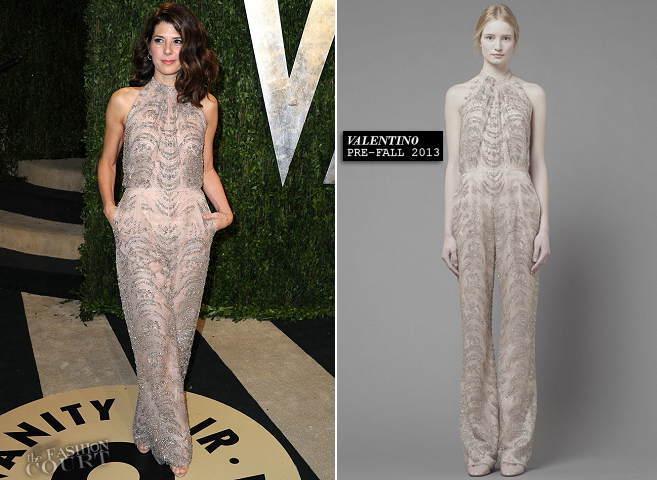 Marisa Tomei in Valentino | 2013 Vanity Fair Oscar Party