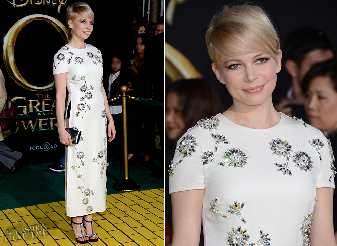 Michelle Williams in Prada | 'Oz The Great and Powerful' World Premiere