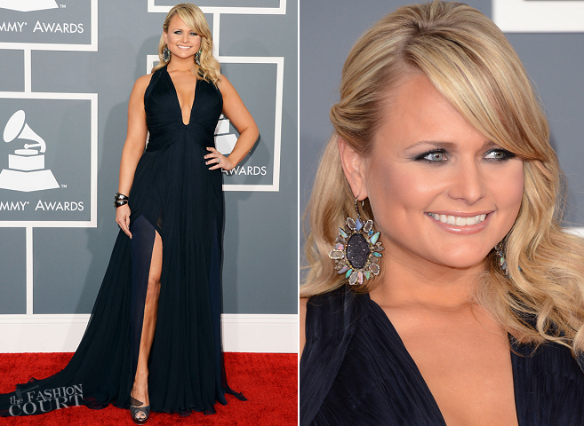 Miranda Lambert in Roberto Cavalli | 2013 GRAMMY Awards