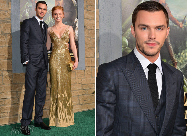 Nicholas Hoult in Tom Ford | 'Jack The Giant Slayer' Hollywood Premiere