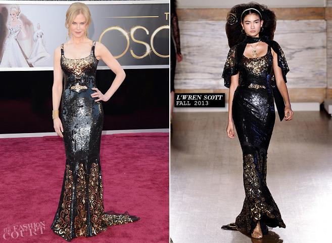 Nicole Kidman in L'Wren Scott | 2013 Oscars