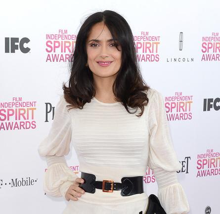 Salma Hayek in Alexander McQueen | 2013 Film Independent Spirit Awards