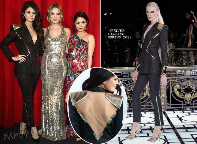 Selena Gomez in Atelier Versace | 'Spring Breakers' Berlin Premiere