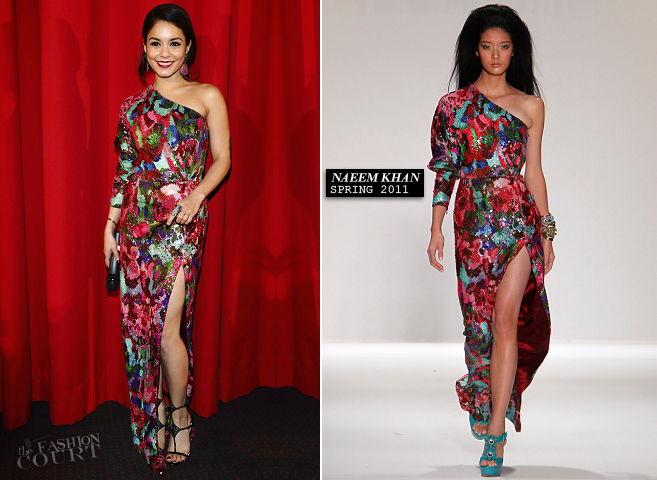 Vanessa Hudgens in Naeem Khan | 'Spring Breakers' Berlin Premiere