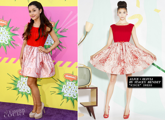 Ariana Grande in Alice + Olivia | 2013 Kids' Choice Awards