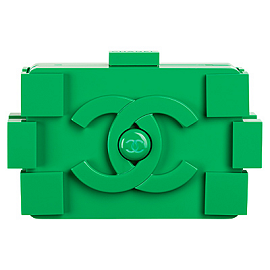 CHANEL Spring 2013 Lego Block Clutch