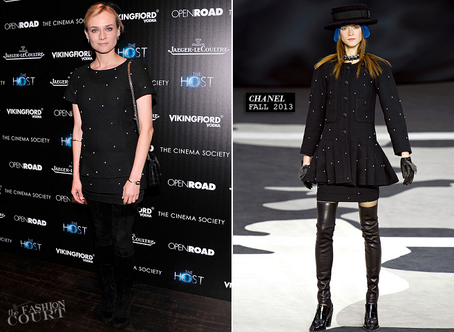 Diane Kruger in Chanel | 'The Host' NYC Screening
