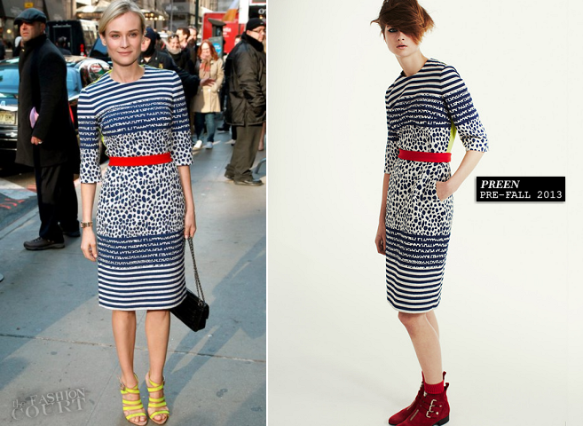 Diane Kruger in Preen | 'Good Morning America'