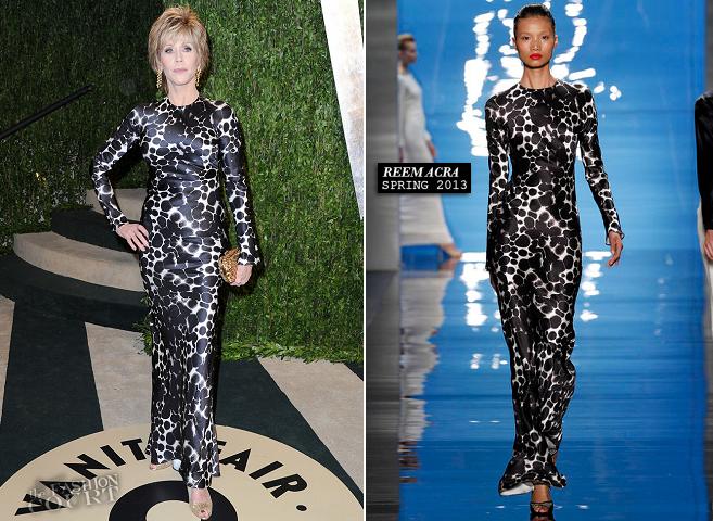 Fonda Oscar Hair 2013 | jane fonda vanity fair oscars