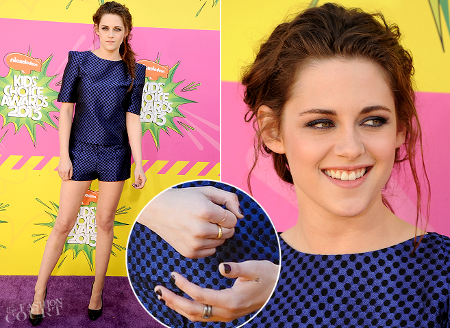 Kristen Stewart is OSMAN | 2013 Kids' Choice Awards