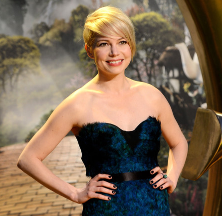 Michelle Williams in Burberry Prorsum | 'Oz: The Great and Powerful' London Premiere