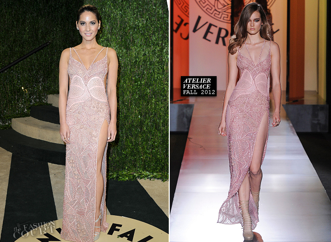 Olivia Munn in Atelier Versace | 2013 Vanity Fair Oscar Party
