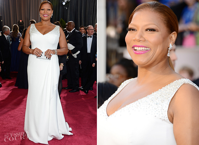 Queen Latifah in Badgley Mischka | 2013 Oscars