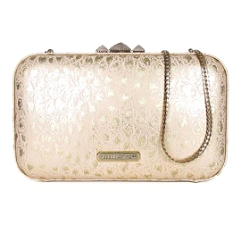 Rebecca Minkoff VINCENT Metallic Clutch
