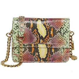 Alice + Olivia by Stacey Bendet CLEE Crossbody in Orange Multi