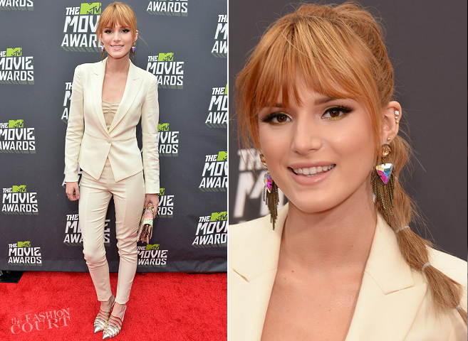 Bella Thorne in Emporio Armani | 2013 MTV Movie Awards