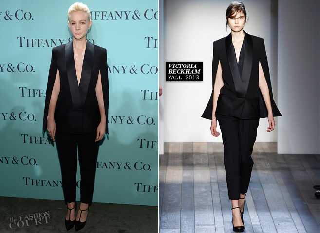 Carey Mulligan in Victoria Beckham | 2013 Tiffany & Co. Blue Book Ball