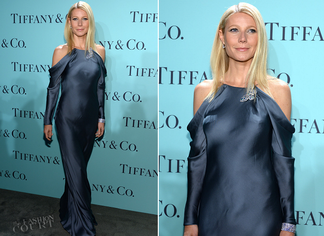 Gwyneth Paltrow in Ralph Lauren Collection | 2013 Tiffany & Co. Blue Book Ball