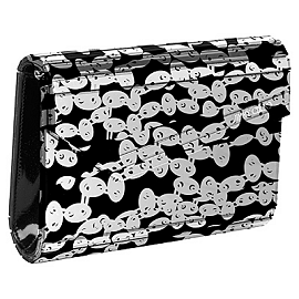 Jimmy Choo Candy Acrylic Printed Clutch