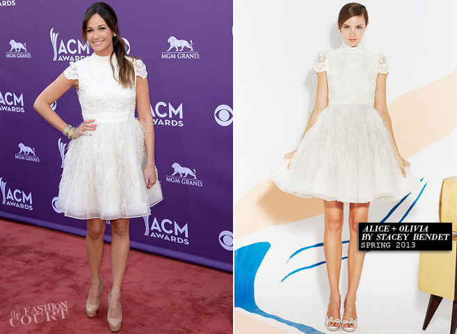 Kacey Musgraves in Alice + Olivia | 2013 Academy of Country Music Awards