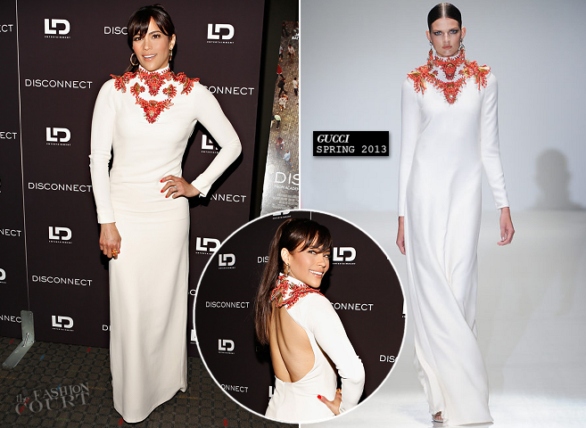 Paula Patton in Gucci | 'Disconnect' NYC Special Screening