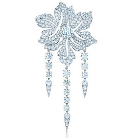 Tiffany & Co. Blue Book Flower Diamond Brooch