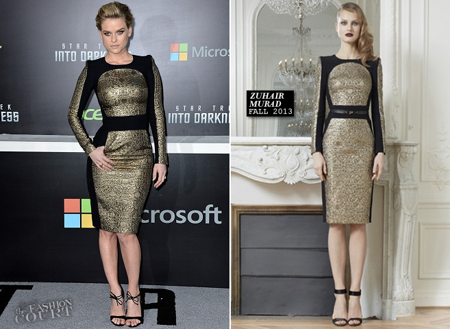 Alice Eve in Zuhair Murad | 'Star Trek Into Darkness' Hollywood Premiere