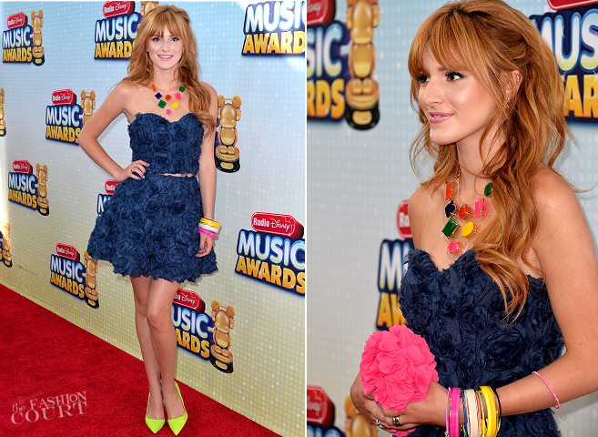 Bella Thorne in Keepsake | 2013 Radio Disney Music Awards