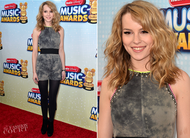 Bridgit Mendler in Topshop | 2013 Radio Disney Music Awards