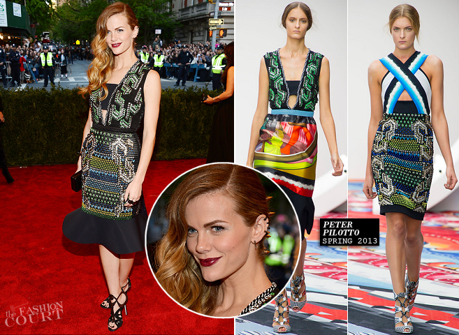 Brooklyn Decker in Peter Pilotto | MET Gala 2013