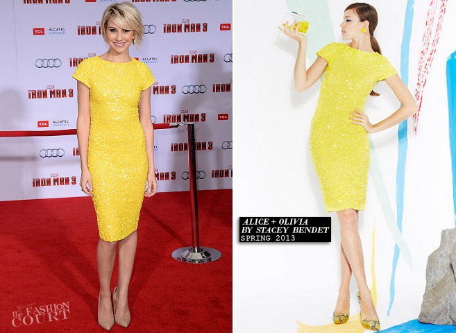 Chelsea Kane in Alice + Olivia | 'Iron Man 3' Hollywood Premiere