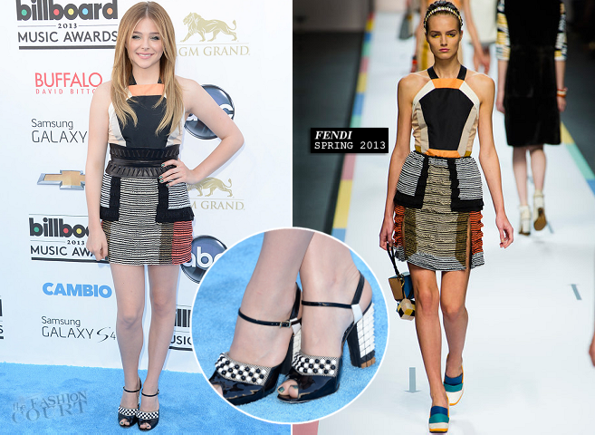 Chloe Moretz in Fendi | 2013 Billboard Music Awards