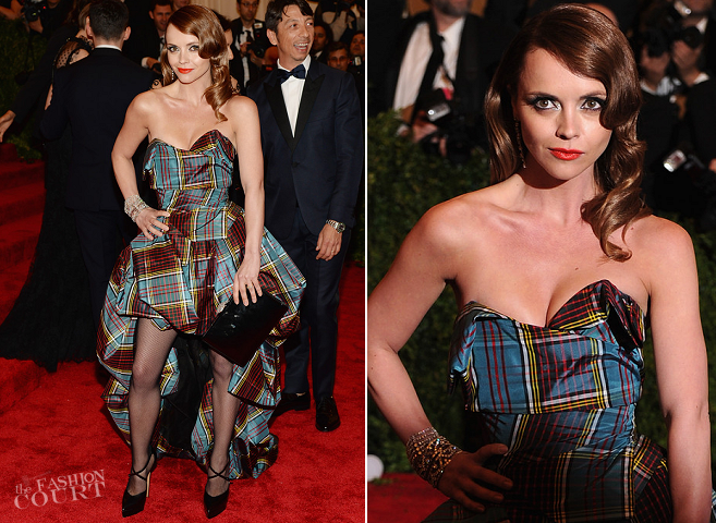 Christina Ricci in Vivienne Westwood Couture | MET Gala 2013